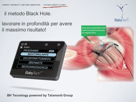 il metodo Black Hole® lavorare in profondità per avere. il massimo risultato! BH Tecnology powered by Talamonti Group.