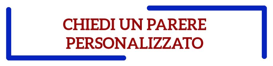 Banner2018 - PARERE PERSONALIZZATO